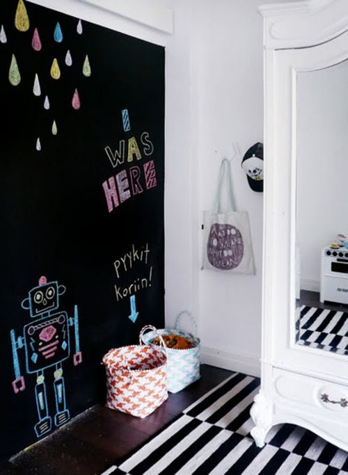 Inspiration tafelfarbe mother 39 s finest for Chalkboard paint in bedroom ideas