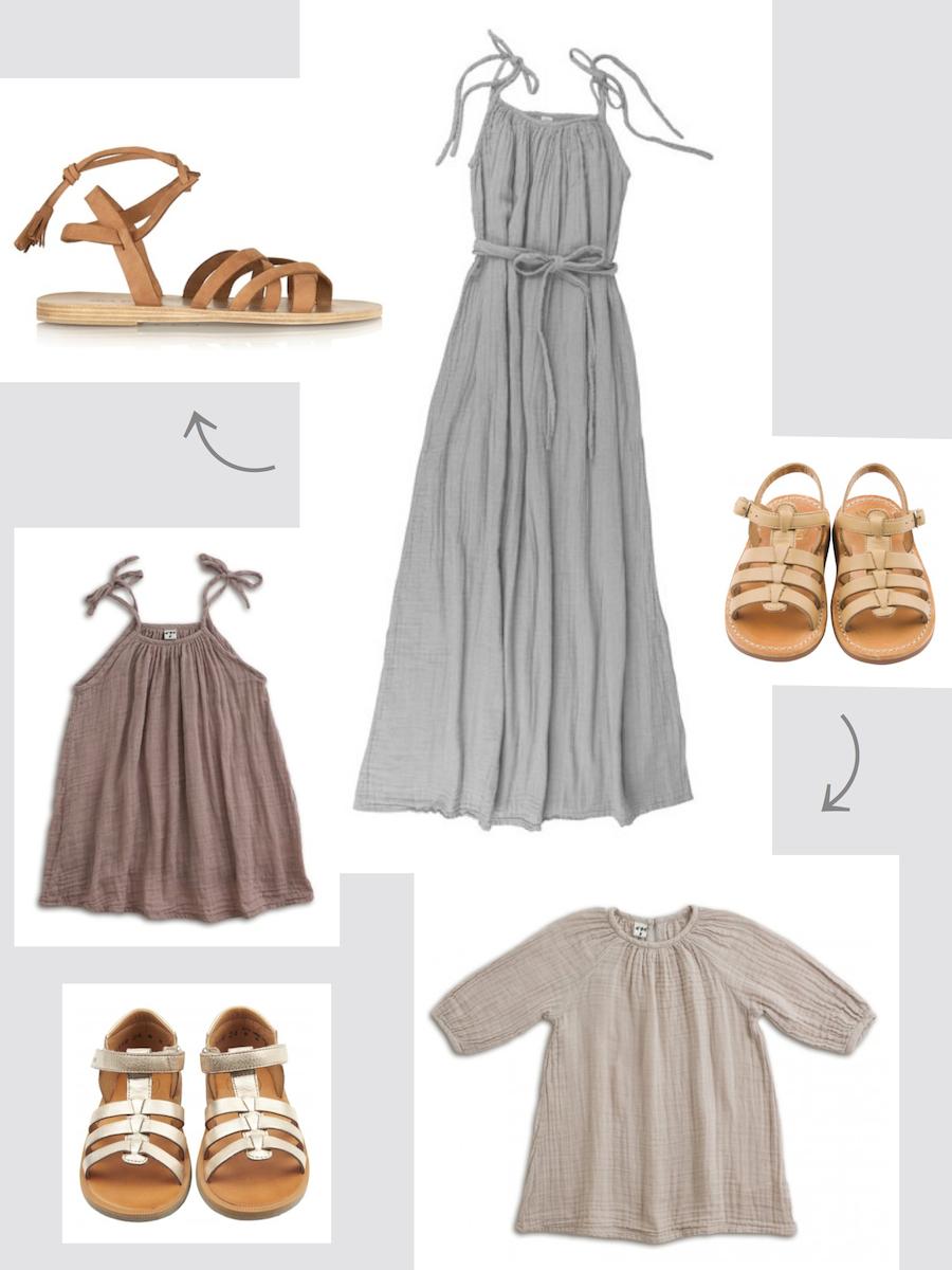 Outfit für Mama und Tochter