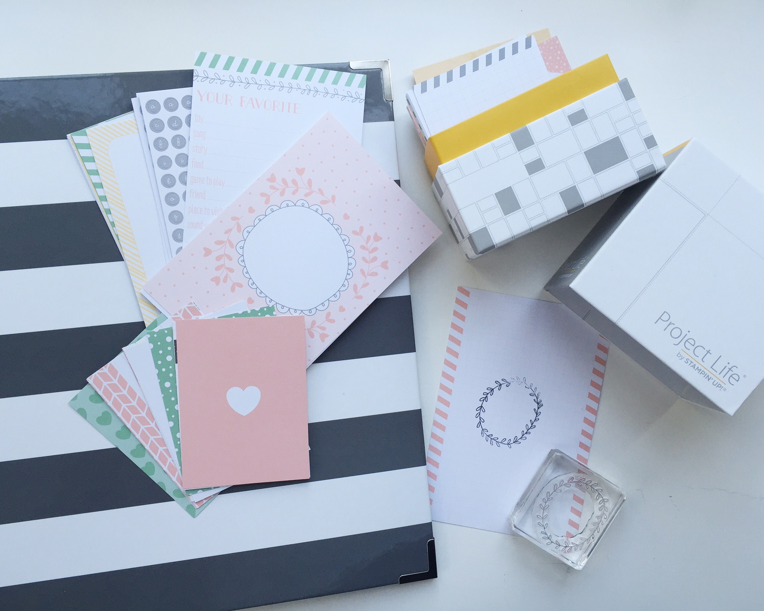 stampin' up - fotoalbum einmal anders! - mother's finest