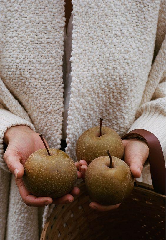 Herbststimmung-Äpfel
