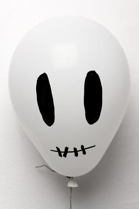 Halloween-Totenkopfballon