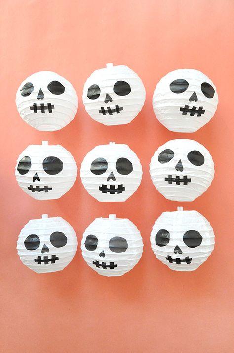 Halloween-Totenkopfballons