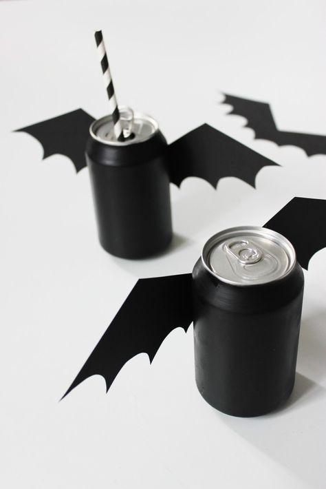 Halloween-Fledermausdosen