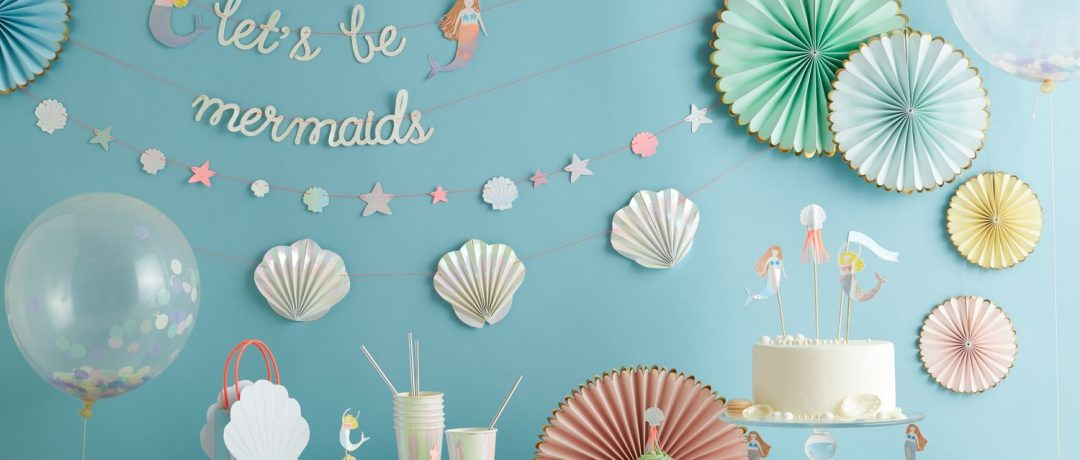 Inspiration: Meerjungfrauenparty