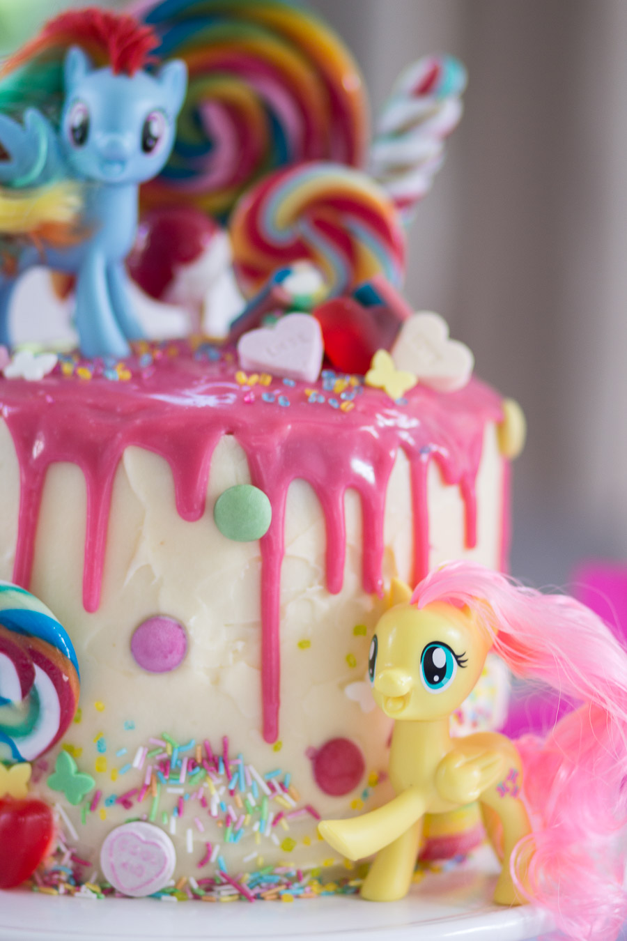 My Little Pony Torte Zum 4 Geburtstag Mother S Finest