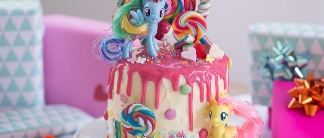 My Little Pony-Torte zum 4. Geburtstag