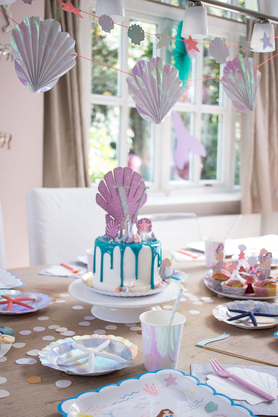 Meerjungfrauenparty Dekoration Torte Spiele Mother S Finest