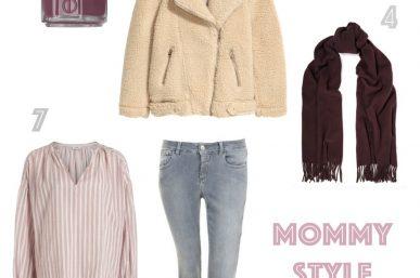 Mommy Style – Akzente in Bordeaux