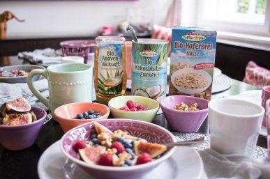 Weniger Zucker – unser Frühstück mit SPAR Vital