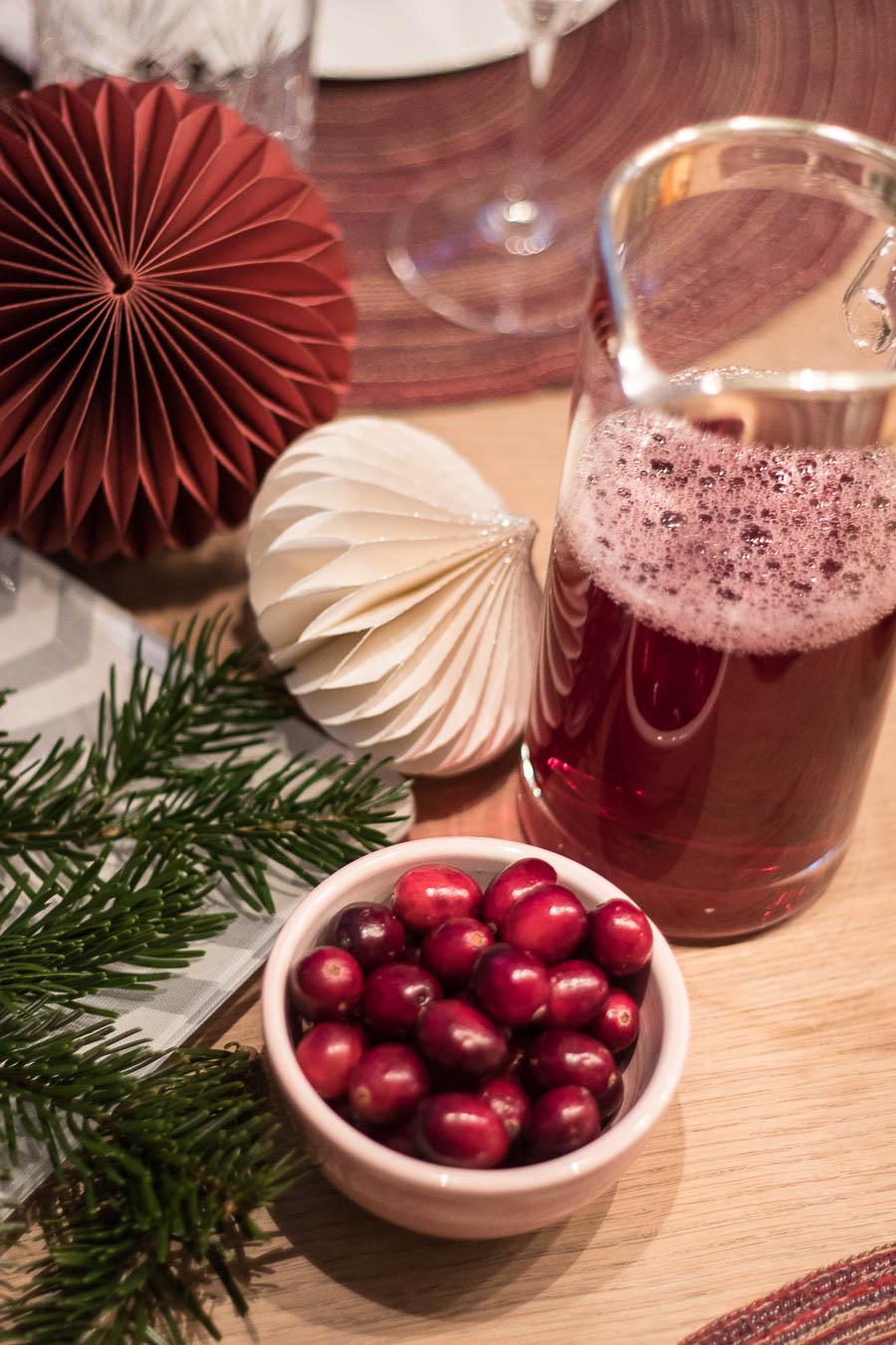 Weihnachtliche Jause mit Sekt und Snacks - Mother\'s Finest