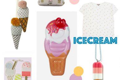 Coole Accessoires mit Eismotiv