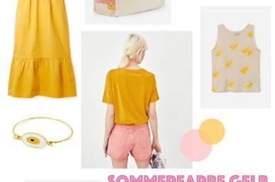 Inspiration: Sommerfarbe Gelb