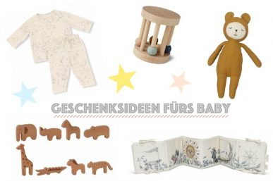Weihnachten – Geschenksideen fürs Baby