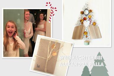 Weihnachten bei den Profis – Alexandra Palla/Palla Vienna, Rough Cut Blog