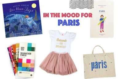 In the mood for Paris – Accessoires, Bücher, Reiseführer, Mode…