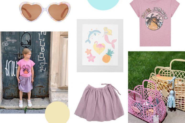 Sommer in Pastell – Outfits für Mädchen